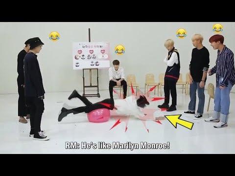 BTS JIN being weird (김석진)