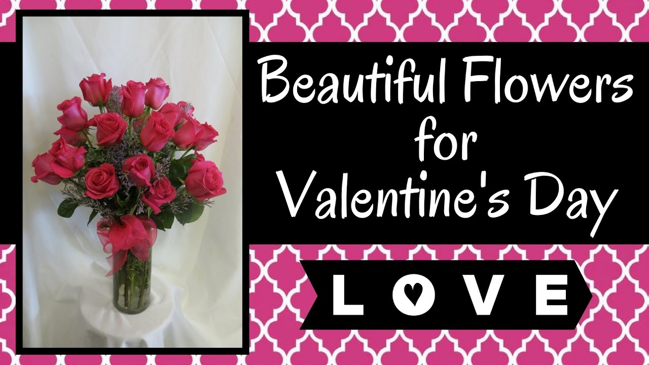 Flowers for valentines day roses lilies gerberas orchids youtube izmirmasajfo