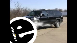 Trailer Brake Controller Installation - 2004 Chevrolet Suburban - etrailer.com