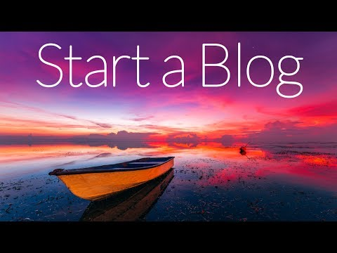 How To Start A Profitable Blog 2017