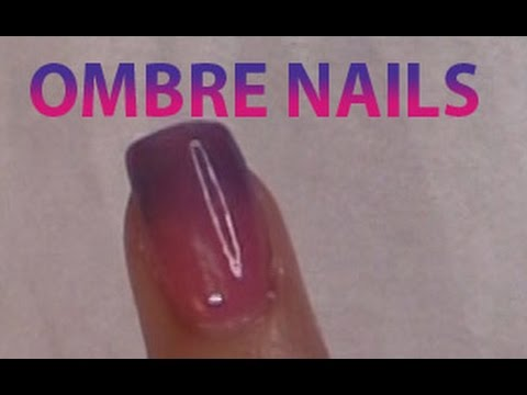OMBRE NAILS DIP FAST & EZ Using TODAY\'S PRODUCTS Color Dipping ...