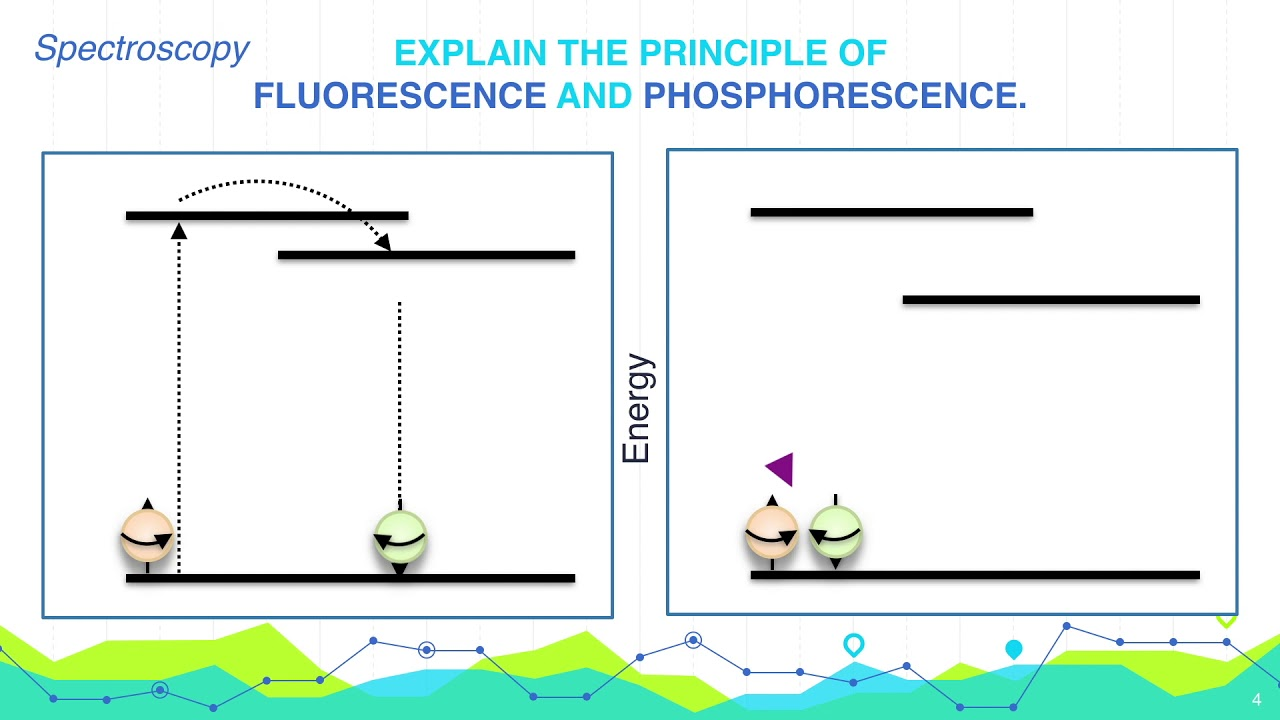 explain the principle of fluorescence and phosphorescence analytical chemistry [ 1280 x 720 Pixel ]