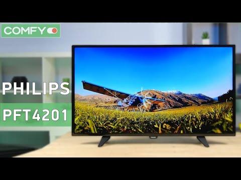видео: philips 40pft4201/12 - fullhd телевизор с привлекательным дизайном - Видео демонстрация
