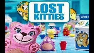 LOST KITTIES. Маша и медведь Розочка открывают милых котят