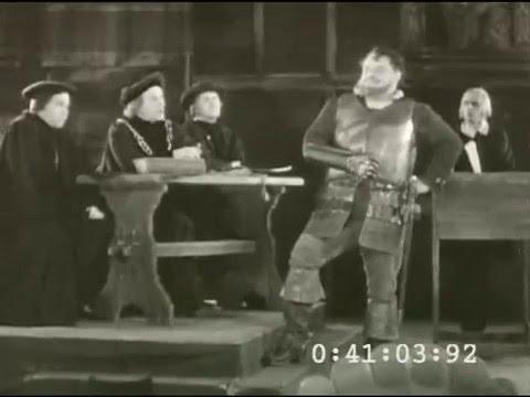 Heinrich George als Götz von Berlichingen
