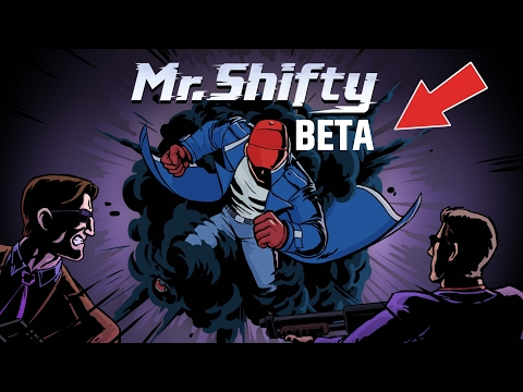 MR SHIFTY - TOP DOWN FAST PACED ACTION INDIE GAME - PAX SOUTH 2017 - BETA