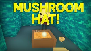 MUSHROOM HAT! - Cube Caverns ROBLOX Gameplay