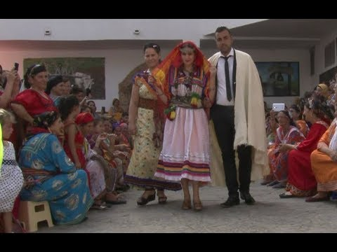 Robe kabyle traditionnelle mariage