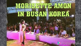 MORISETTE AMON, WOWED THE CROWDS IN BUSAN KOREA(ASIAS SONG FESTIVAL)