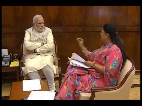 Rajasthan CM calls on PM Modi