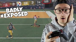 TRASH TALKING LOSER GETS EXPOSED BAD! Madden 18 Road To Elite ep.21
