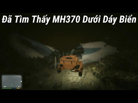 GTA 5 -  Tìm Thấy Máy Bay MH370 Mất Tích Bí Ẩn Dưới Đáy Hồ Sâu Trong GTA 5 !
