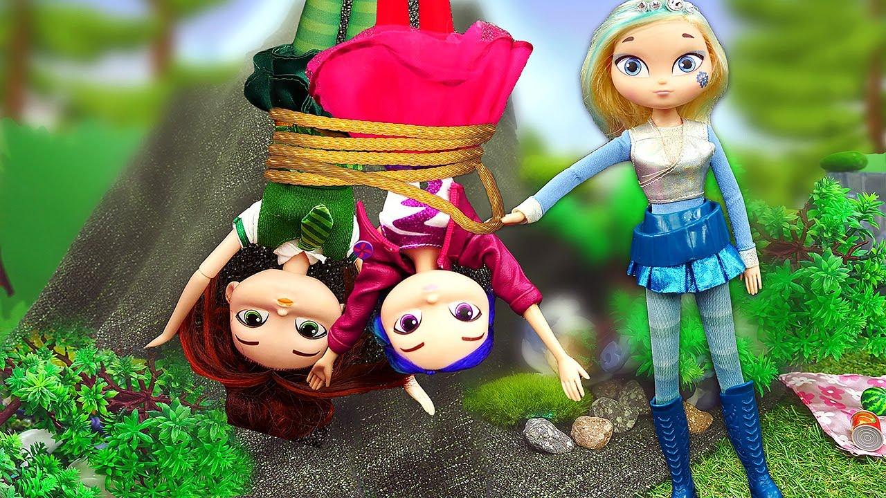 Куклы Сказочный Патруль напикнике! Новые приключения волшебниц. Видео КУКЛЫ для девочек @GullGirl