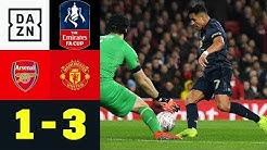 Alexis Sanchez sticht alter Liebe mitten ins Herz: Arsenal - Manchester United | FA Cup | Highlights