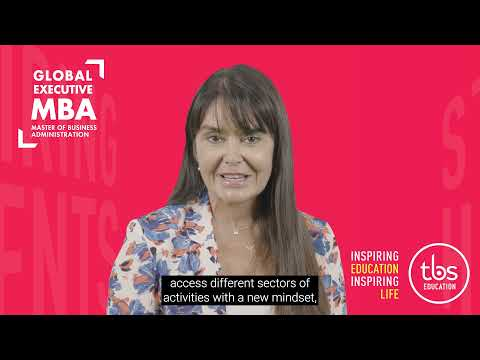 TBS - Dr Ghislaine SANCHEZ MARTIN , Global Executive MBA Program Manager