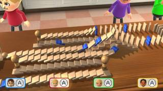 Wii Party U Minigame Showcase - Domino Tally