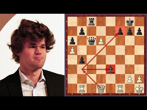 Carlsen's Thrilling Move Will Definitely Find Its Place In Chess Books