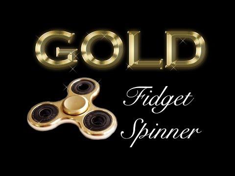 Gold Fidget Spinner!!!