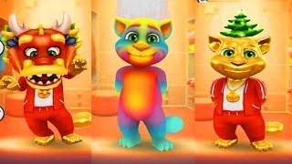 Мой говорящий Кот #12 ТОМ Мой виртуальный питомец ИГРА МУЛЬТИК ДЛЯ ДЕТЕЙ Кот примеряет одежду