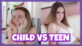 Child vs Teen pripreme za more