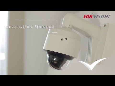 Hikvision IR Dome Installation Process