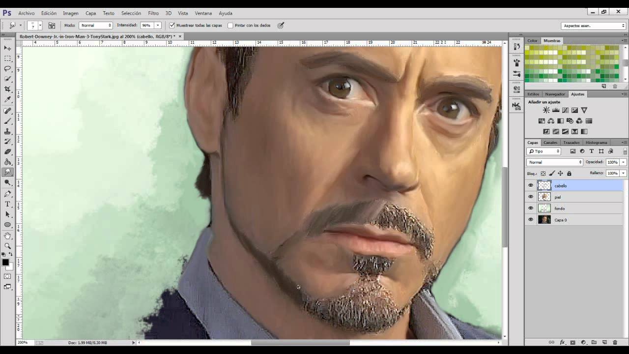 Smudge Painting Tutorial in Photoshop cs6 | Easy trick for ...