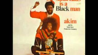 Santa Clause Is A Black Man By Akim & Teddy (1973) From My Childhood. For The Kids. LOLOL!!