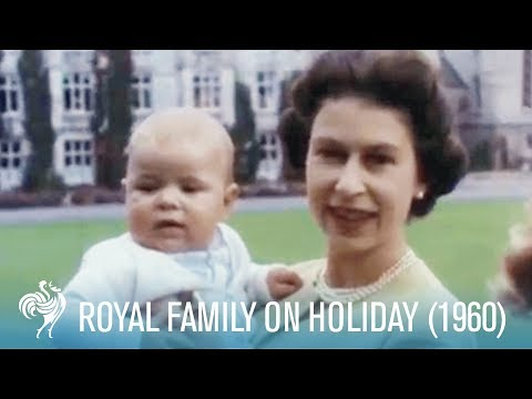 Royal Family On Holiday: Balmoral Castle (1960) | British Pathé