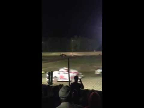 Albany Saratoga speedway, Start of Super dirt car series 7-9-2013