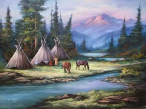 Fall In Love Again Wallpapers Dancing Under The Moon Native American Chant Youtube