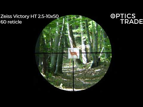 Zeiss Victory HT 2.5-10x50   Optics Trade Reticle Subtentions