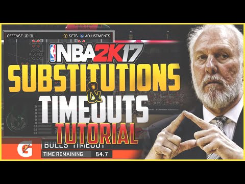 nba-2k17-tips:-substitution-&-time-out-tutorial