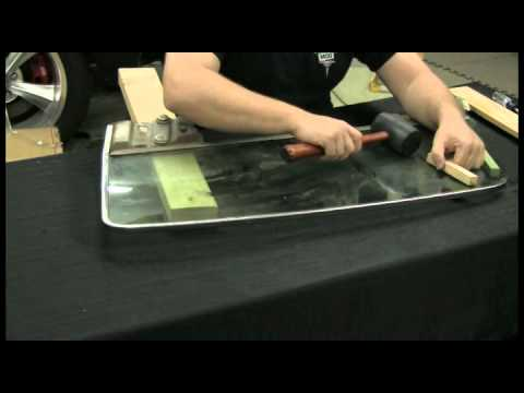 Episode 36 Part 1 Safely remove and install automotive glass into window channels aAutorestomod
