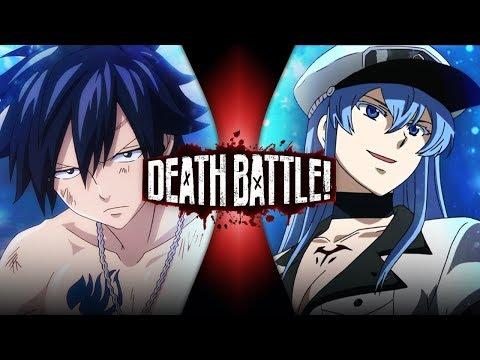 Gray VS Esdeath (Fairy Tail VS Akame Ga Kill!)   DEATH BATTLE!