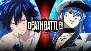 Gray VS Esdeath (Fairy Tail VS Akame ga Kill!) | DEATH BATTLE!