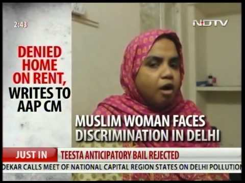 Muslim woman denied home in Delhi