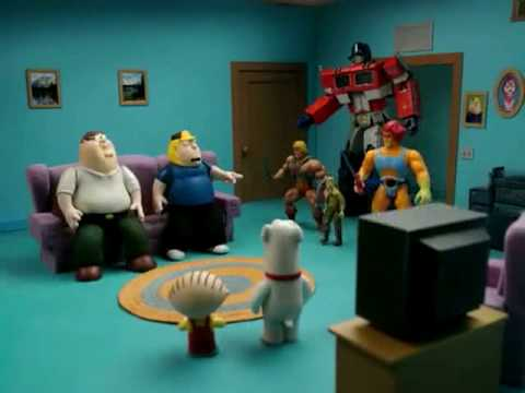 Family Guy in Robot Chicken (The Multiverse Chronicles ...