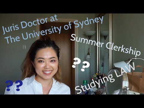 Juris Doctor Degree Overview (University Of Sydney, Australia)