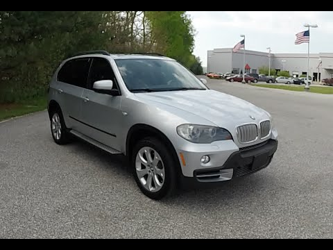 2007 bmw x5 4 8i awd silver 3rd row seat used bmw. Black Bedroom Furniture Sets. Home Design Ideas