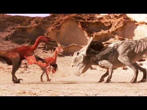 Protoceratops VS velociraptors
