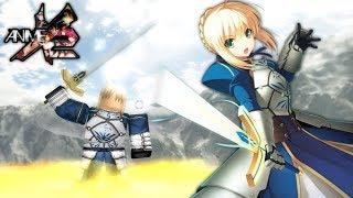*SABER* Artoria Pendragon in Anime Cross 2! | Roblox