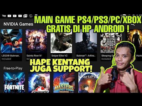 Cara Main Game PS4 Di HP Android (Tutorial Lengkap Daftar NVIDIA Games Android & Daftar Akun Steam)