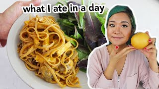 Casual What I Ate in a Day (Vegan Thanksgiving!) // Cook With Me !