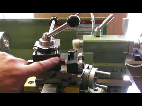 WARCO LATHE Shop made quick change tool post final part.
