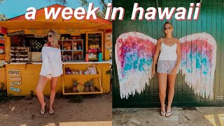 the most beautiful place on Earth | a week in Hawaii