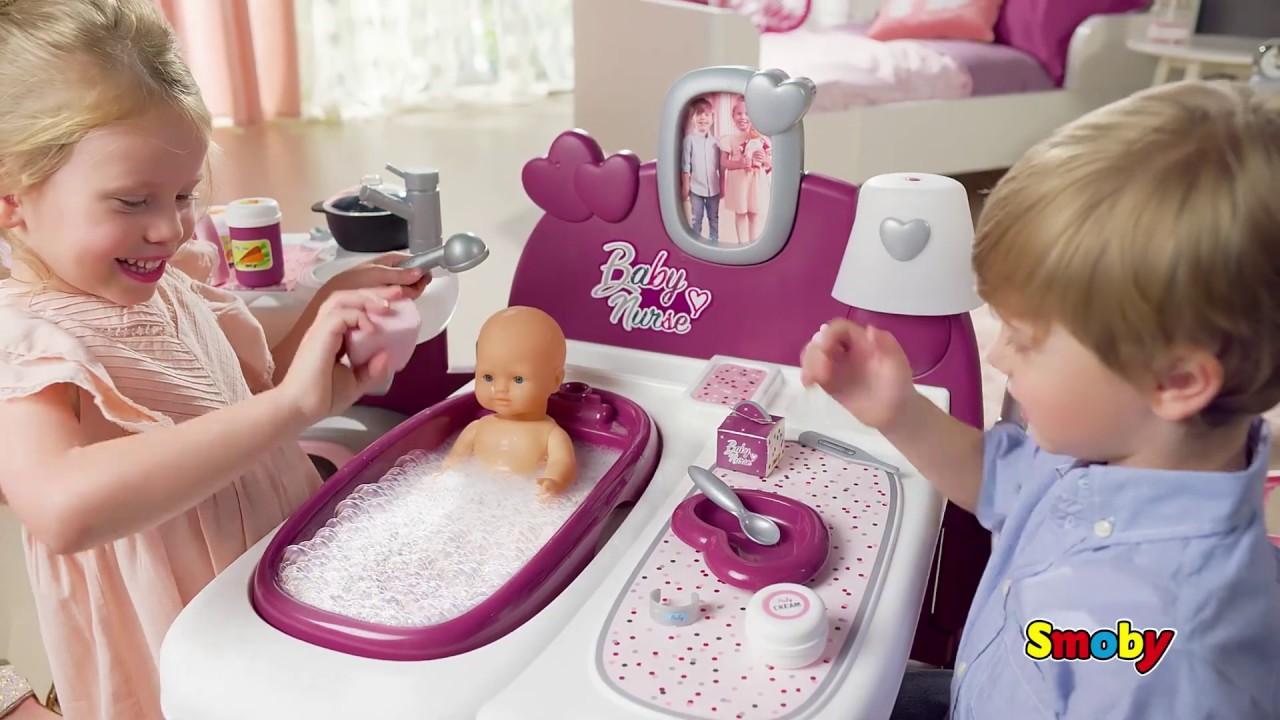 Чемодан для куклы Smoby Baby Nurse 3 в 1 6 акс. 220346