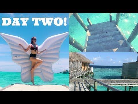 MALDIVES DAY 2 | VLOG ♡