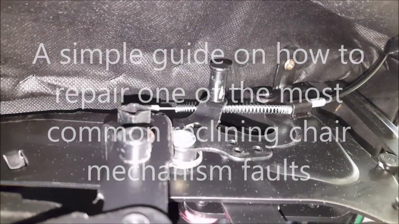 Lovesofas  How to repair the reclining mechanism on a