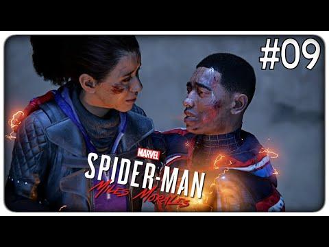 SCONTRO FINALE PER SALVARE HARLEM E L'ULTIMO REGALO DI PAPA'   Spider-Man Miles Morales - ep. 09