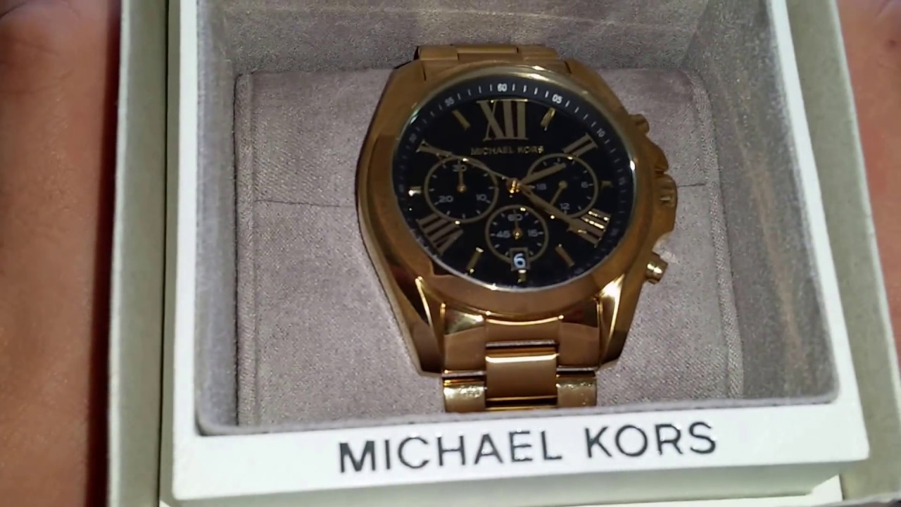 c6f1cedeb64b Michael Kors MK5739 Unboxing by Lil Rome